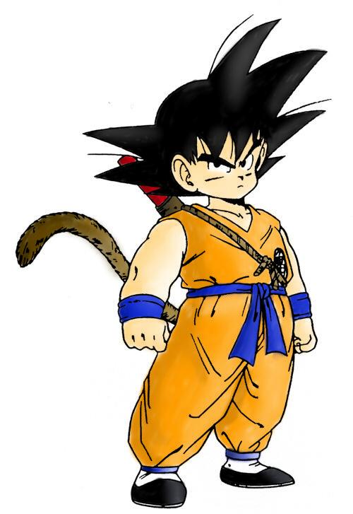Goku A Color By Desergi On Deviantart