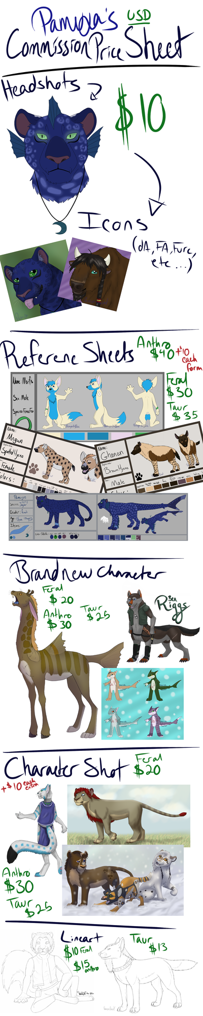 Paypal Commission Price Sheet (2 SLOTS LEFT) by Pamuya-Blucat