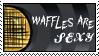 Waffle Stamp