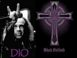 Ronnie James Dio Sabbath Wallpaper by Mick81