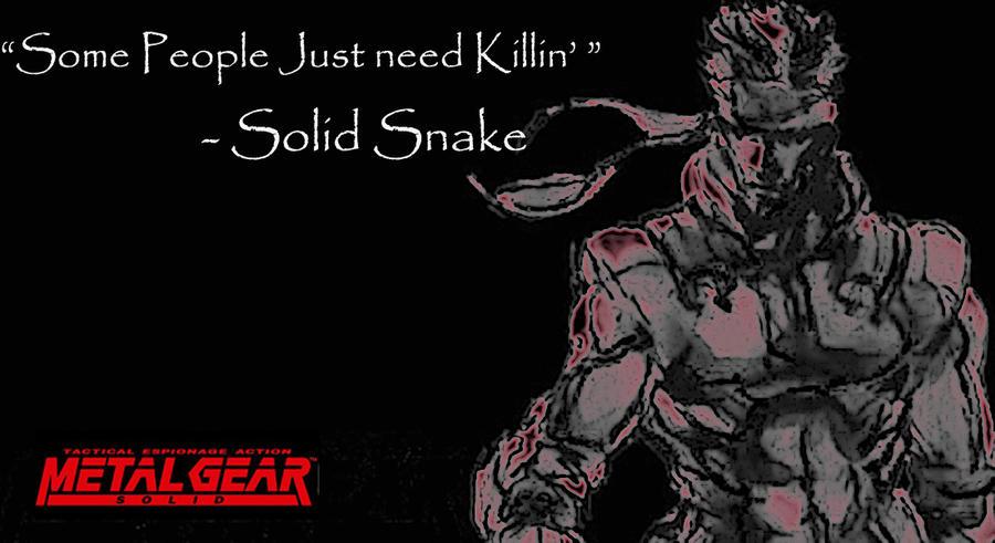 Metal Gear Solid 2 Wallpaper: Metal Gear Solid Wallpaper By Mick81 On DeviantArt