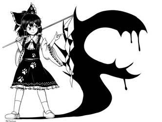 (Touhou 17) Reimu by GiantCaveMushroom