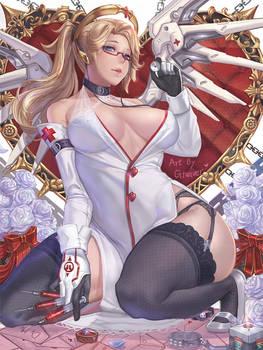 overwatch_Mercy nurse ver