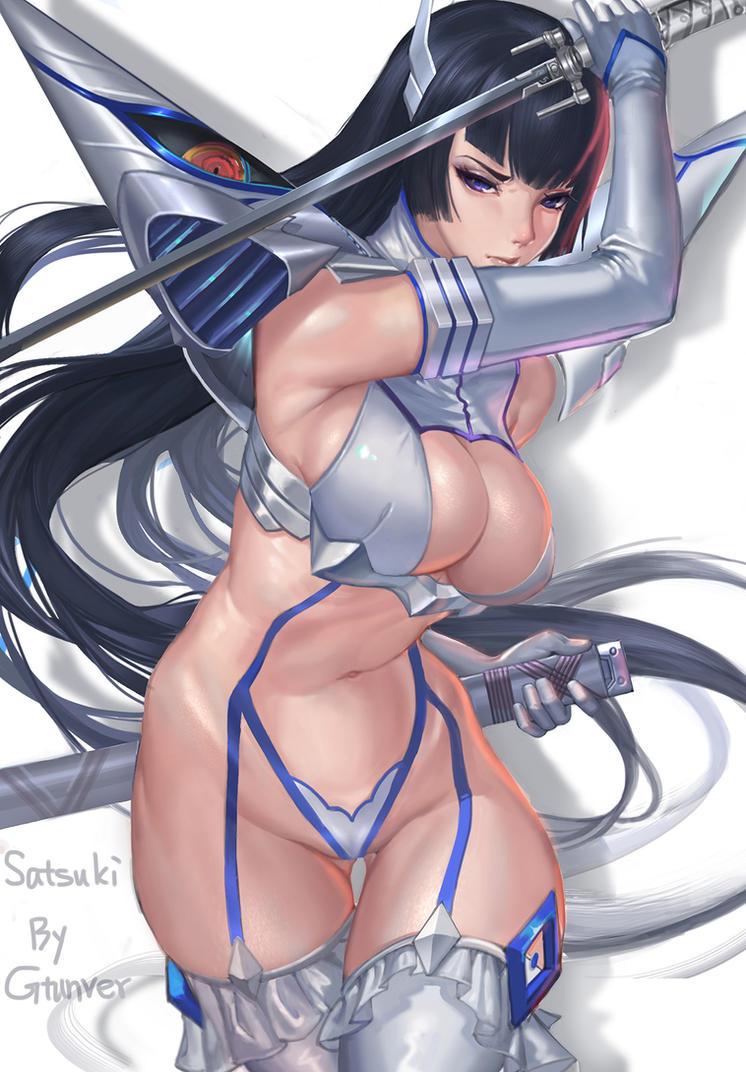 satsuki_kiryuin(KLK) by Gtunver