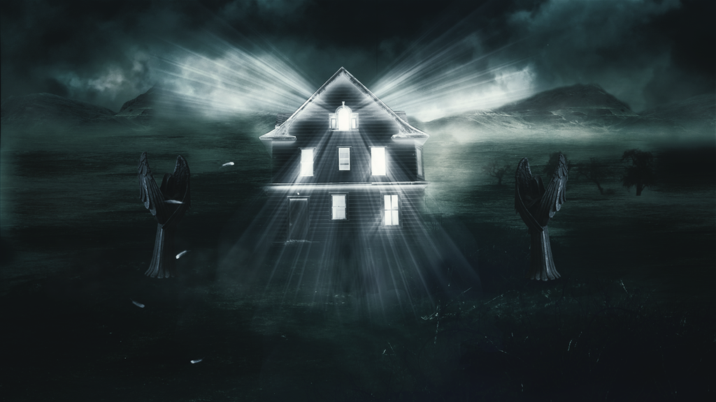 Spooky House by Iliya-art