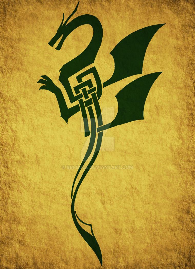 Green Dragon by Bri-Dude