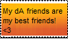 Friends Stamp by Wishesonthemoon