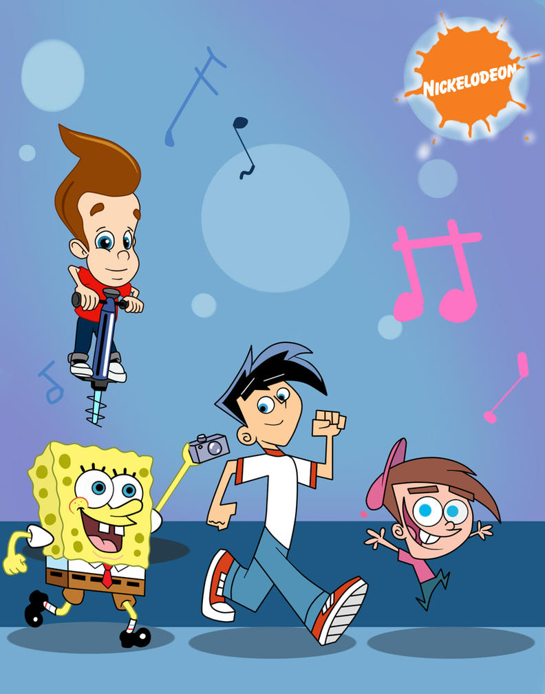 The Nicktoons by sibred