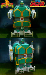 Thor The Shuttle Zord daimugen Robot Mode by sibred