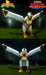 Falcon Zord Tsubasamaru by sibred