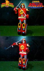 Red Ape Ninja Zord by sibred