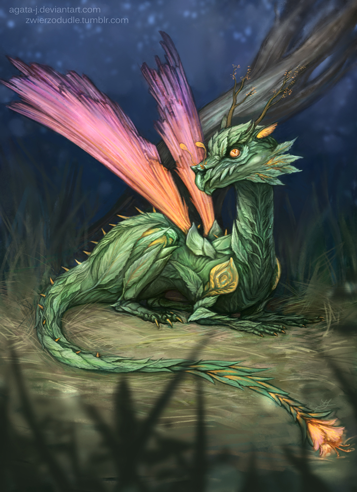 2015-05-01 plant dragon by agata-j
