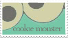 Cookie Monster Stamp by umbrehla