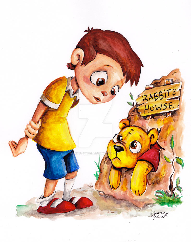 Christopher Robin by JAMES-POWELL