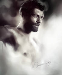 Liam McIntyre, speed painting by ChocoWay