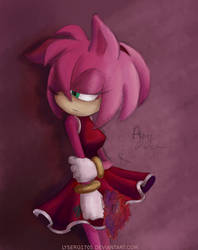 +Amy Rose+ by Lyserg1705
