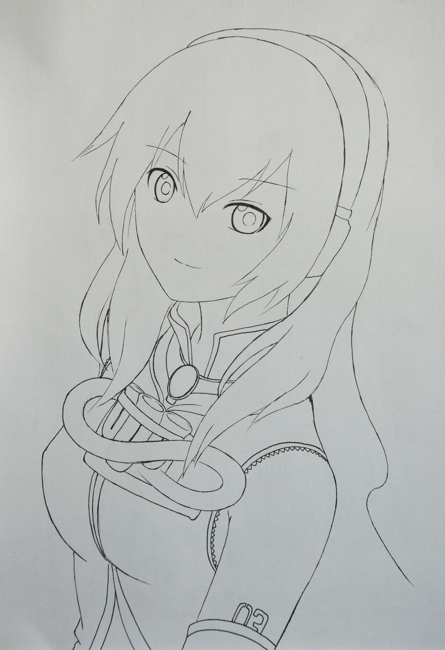 megurine luka by me by kasugaichi on deviantart