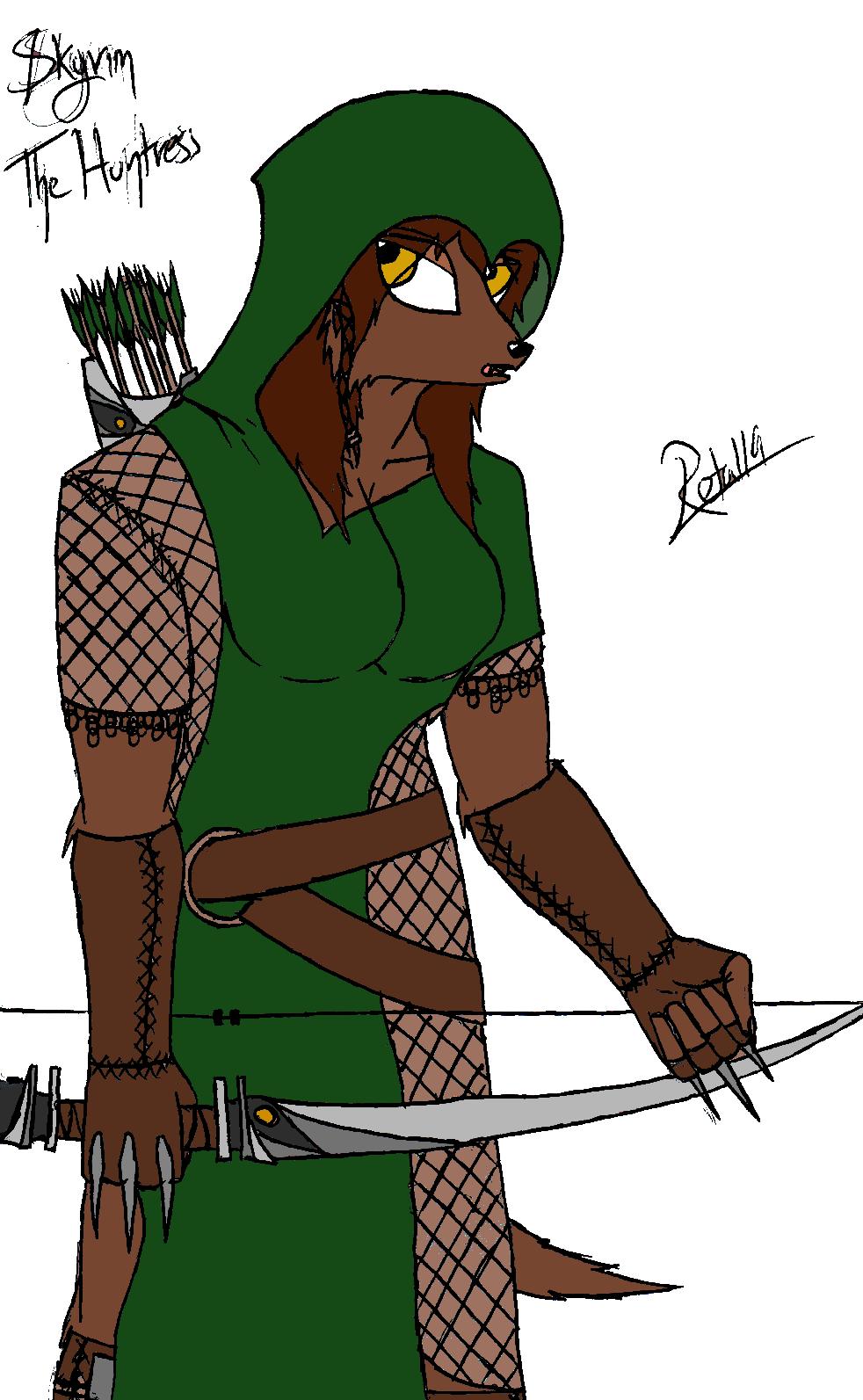 Skyrim - The Huntress by Retal19