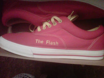 My Flash Shoes by CalmlyDisutrbed