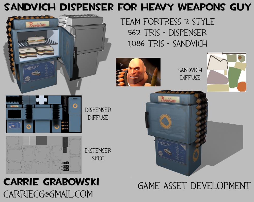 Sandvich Dispenser by rageofthematrix