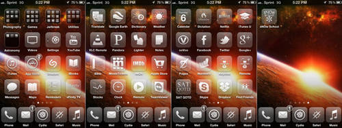 iPhone Home Screen March by cclloyd9785