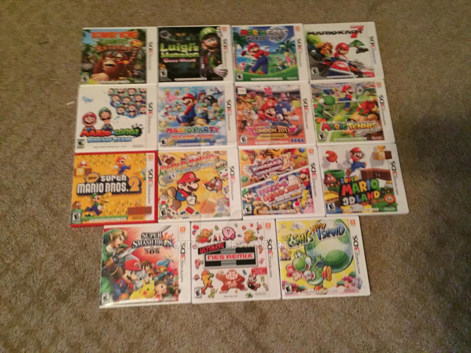 Nintendo 3ds Mario Games : Updated mario game collection ds by iamtsman on deviantart