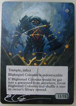 Blightsteel Colossus by ClaarBar