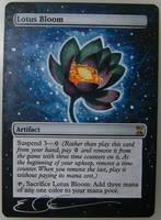 mtg Altered - Lotus Bloom by ClaarBar