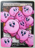 mtg Altered - Army of the Damned Kirby by ClaarBar