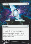 mtg Altered - Sol Ring in space