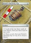 mtg Altered - Sensei's Divining Top Dig