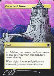 mtg Altered - Command Tower GoT by ClaarBar