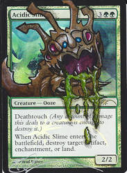 mtg Altered - Acidic Slime LoL by ClaarBar