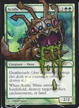 mtg Altered - Acidic Slime LoL