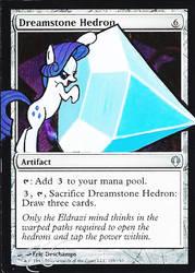 mtg Altered - Dreamstone Hedron