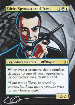 mtg Altered - Edric Spymaster Bond