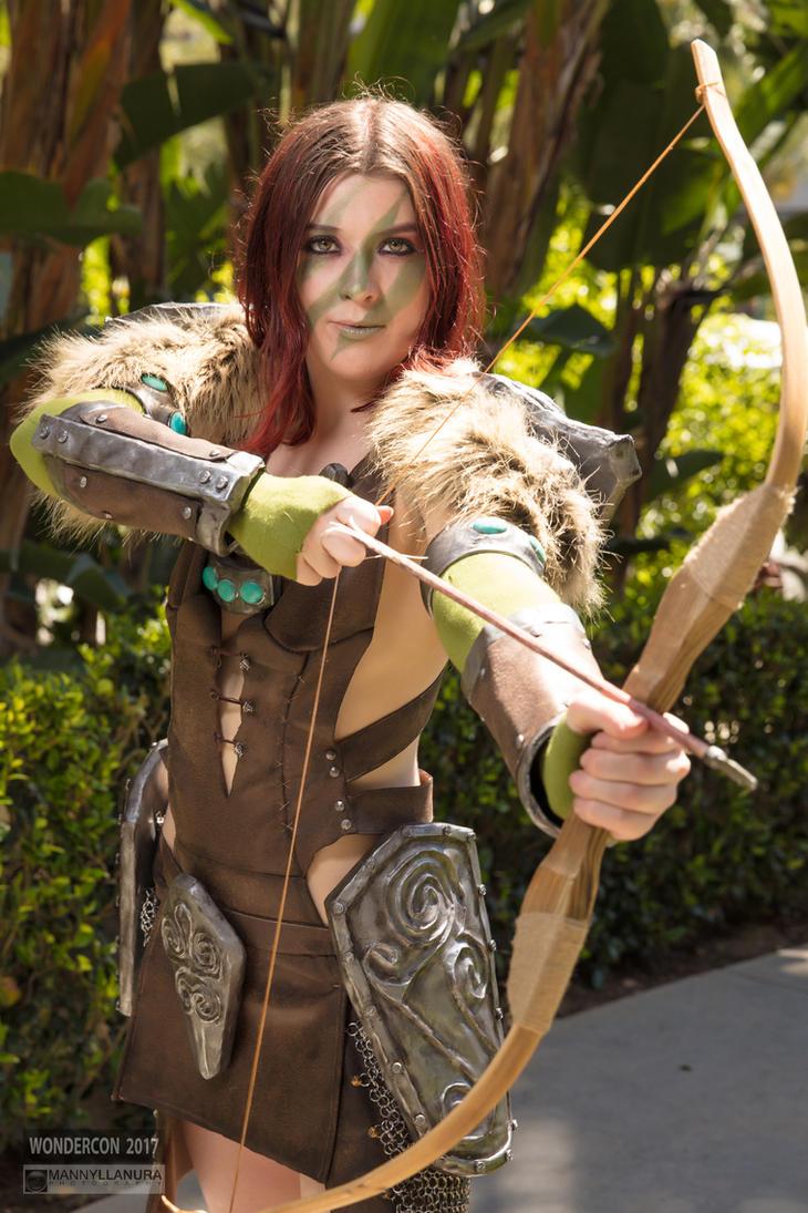 Aela the Huntress by Oreparma