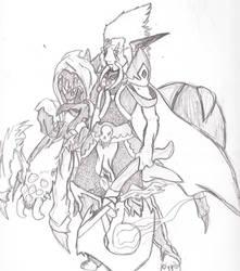 Nerubian Master of the Lich by KittaRiku