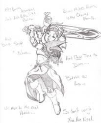Bones Snap in Echoes by KittaRiku