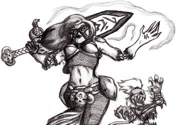 The Unholy Mistress by KittaRiku