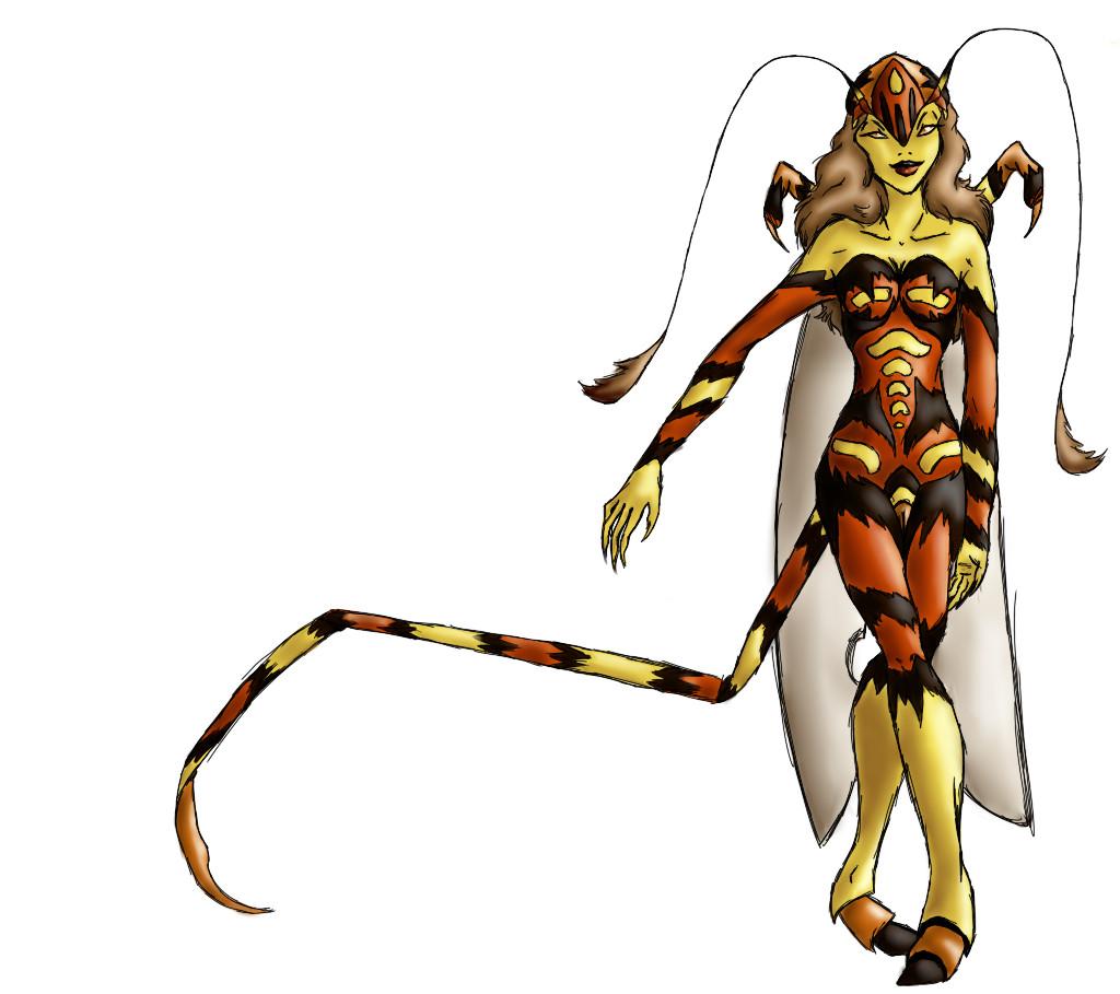 Kittariku's world Arsine_the_Parasitic_Wasp_by_KittaRiku