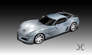 Corvette Stingray by JC Molina