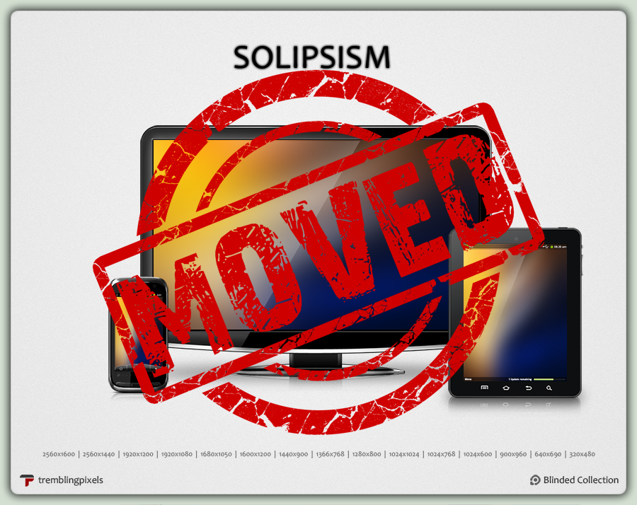 solipsism by tremblingpixels