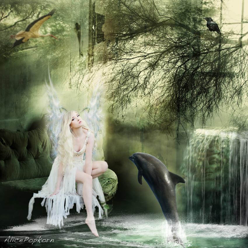 shower of grace by alicepopkorn