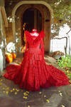 Lydia Deetz Red Gown REVAMPED