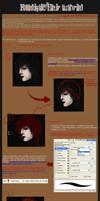 realistic hair tutorial by jounetsunoakai