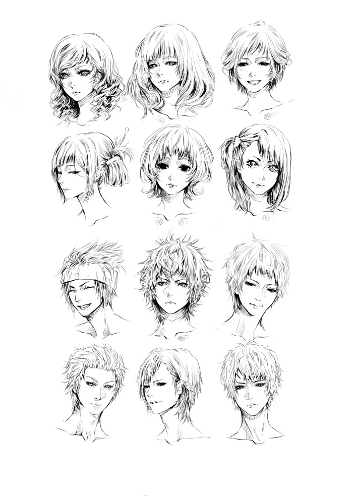 faces by jounetsunoakai