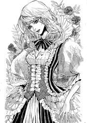 butterfly ink by jounetsunoakai
