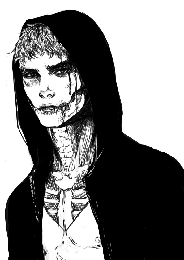 skull by jounetsunoakai