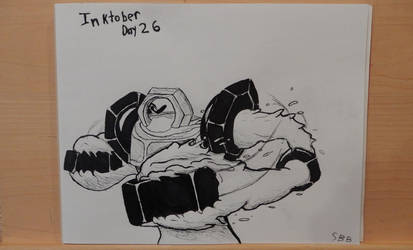 Inktober Day 26 : Stretch